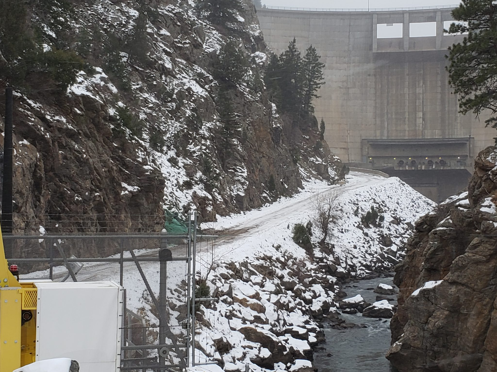 Waterton Canyon Dam Denver Water
